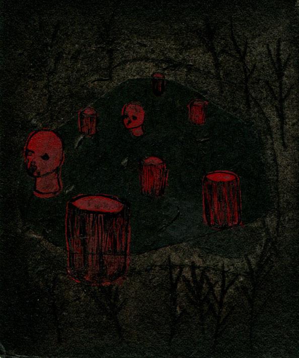 Forêt rouge II