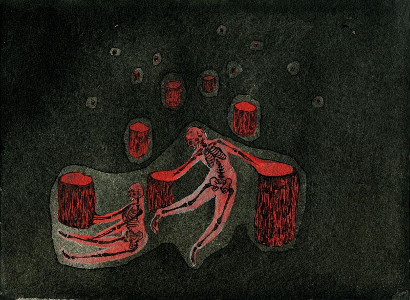 Danse aux os
