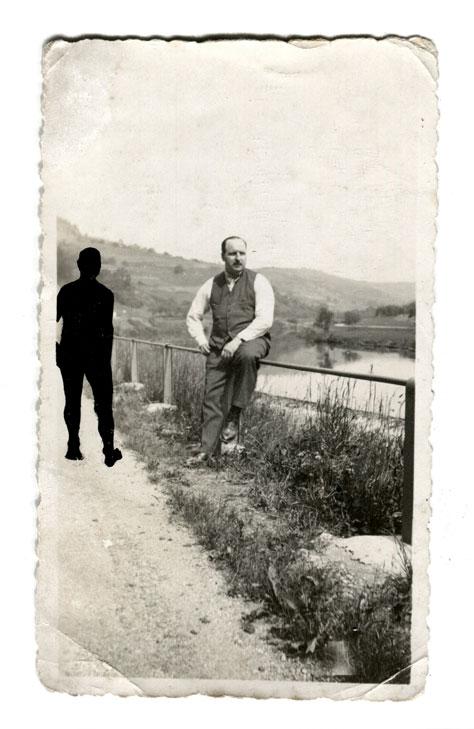 Les Absents 16 (Juin 1932 bord de la Moselle Grd Duché Luxembourg)